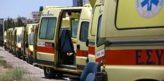 Νεκρός 63χρονος - Σε κρίσιμη κατάσταση η σύζυγός του πιθανότατα λόγω αναθυμιάσεων στο σπίτι τους στο Διόνυσο