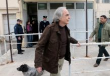 Ο Κουφοντίνας προσέφυγε στο Δικαστικό Συμβούλιο Βόλου για χορήγηση 9ήμερης εορταστικής άδειας