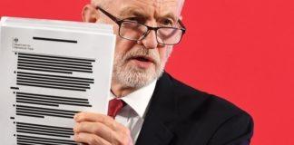 Ο Τζ. Κόρμπιν αποκαλύπτει «εμπιστευτική» κυβερνητική έκθεση για τη θέση της Β. Ιρλανδίας στο Brexit
