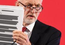 Ο Τζ. Κόρμπιν αποκαλύπτει «εμπιστευτική» κυβερνητική έκθεση για την θέση της Β. Ιρλανδίας στο Brexit