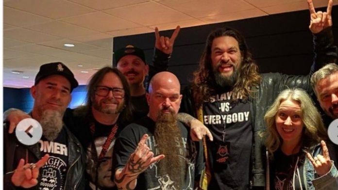 O Τζέισον Μομόα στην τελευταία συναυλία των Slayer
