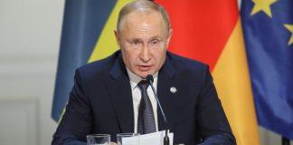 Ο πρόεδρος Πούτιν προειδοποιεί για μια δεύτερη Σρεμπρένιτσα αν δεν δοθεί αμνηστία για την ανατολική Ουκρανία
