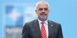 Ο πρωθυπουργός Ε. Ράμα παρασημοφόρησε τα σωστικά συνεργεία που συμμετείχαν στη διάσωση εγκλωβισμένων από τον φονικό σεισμό