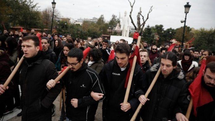 Πορείες μαθητών και φοιτητών για την επέτειο Γρηγορόπουλου