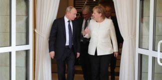Τηλεφωνική επικοινωνία Μέρκελ με Ερντογάν και Πούτιν για τη Λιβύη