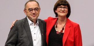 Τo Συνέδριο του SPD επιβεβαίωσε την εκλογή του Νόρμπερτ Βάλτερ-Μπόργιανς και της Σάσκια Έσκεν στην ηγεσία
