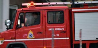 Υπό έλεγχο πυρκαγιά σε εγκαταλελειμμένο κτίριο στο κέντρο της Αθήνας
