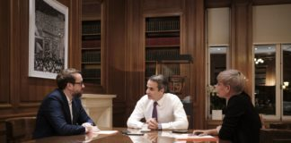 K. Μητσοτάκης: Δεν φοβάμαι θερμό επεισόδιο με την Τουρκία