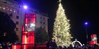 Η Θεσσαλονίκη άναψε το δέντρο της