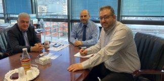 Συνάντηση Π. Τσακίρη με τον διοικητή της Εθνικής Αρχής Διαφάνειας
