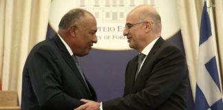 Τηλεφωνική επικοινωνία του Αιγύπτιου ΥΠΕΞ με Ν. Δένδια και Ν. Χριστοδουλίδη για το θέμα της Λιβύης