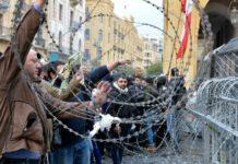 Βίαιες συγκρούσεις αστυνομίας και διαδηλωτών στη Βηρυτό