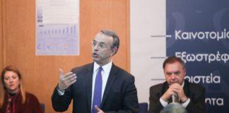 Χρ. Σταϊκούρας: Ο Προϋπολογισμός στοχεύει στην επίτευξη υψηλής και διατηρήσιμης μεγέθυνσης