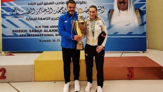 «Χρυσή» στο Κουβέιτ η Κορακάκη