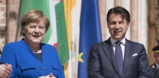 Εκτενής τηλεφωνική συνομιλία Κόντε- Μέρκελ για τη Λιβύη και το Ιράν