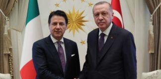 Ερντογάν και Κόντε θέλουν «μόνιμη» κατάπαυση του πυρός στη Λιβύη