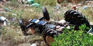 Κατερίνη: Νεκρός 69χρονος αγρότης που καταπλακώθηκε από το τρακτέρ του
