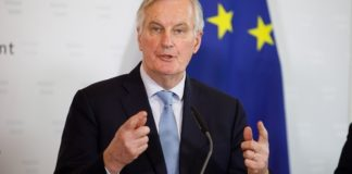 Μ. Μπαρνιέ: Το χρονικό διάστημα των 11 μηνών δεν είναι αρκετό για την διαπραγμάτευση της μελλοντικής σχέσης ΕΕ-Ηνωμένου Βασιλείου