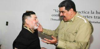 Μαδούρο σε Μαραντόνα: «Η Βενεζουέλα είναι το σπίτι σου»