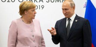 Μέση Ανατολή, Λιβύη και Συρία στο επίκεντρο συνάντησης Μέρκελ-Πούτιν, το Σάββατο