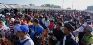 Μεξικό-καραβάνι μεταναστών: Οι αρχές καλούν τους μετανάστες να δείξουν ηρεμία