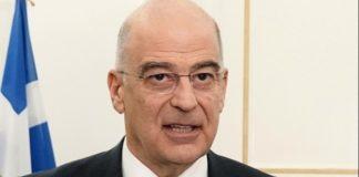 Ν. Δένδιας: «Καταδικάζουμε την κορύφωση των συνεχιζόμενων παράνομων δραστηριοτήτων και προκλήσεων στην περιοχή μας»