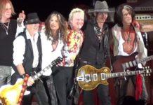 """Ο Τζόνι Ντεπ """"τζαμάρει"""" με τους Aerosmith για τα 50 χρόνια καριέρας τους"""