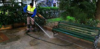 Παρέμβαση καθαριότητας και συντήρησης στην πλατεία Αττικής