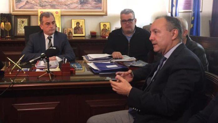 Περιοδεία του υφυπουργού Μακεδονίας-Θράκης στην Περιφερειακή Ενότητα Σερρών