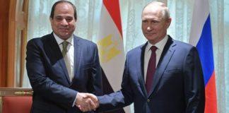 Πούτιν και Σίσι επικροτούν τις διεθνείς προσπάθειες για την ειρηνική επίλυση της κρίσης στη Λιβύη
