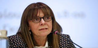 Νέα ΠτΔ με 261 ψήφους η Αικατερίνη Σακελλαροπούλου