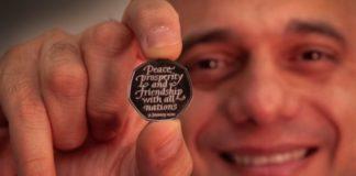 Σε κυκλοφορία τα νέα αναμνηστικά νομίσματα Brexit - Αυτή τη φορά με τη σωστή ημερομηνία