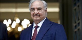 Στο Βερολίνο για τη διάσκεψη για τη Λιβύη ο Χάφταρ