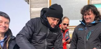 Στο Χιονοδρομικό Κέντρο Βασιλίτσας ο Λευτέρης Αυγενάκης