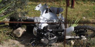 Τροχαίο δυστύχημα με νεκρό μοτοσικλετιστή στον κόμβο Αμφίπολης- Καβάλας