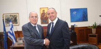 ΥΜΑΘ: Συνάντηση Καράογλου με τον πρέσβη του Ισραήλ
