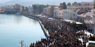 «Νέκρωσαν» τα νησιά του Β. Αιγαίου από τη γενική απεργία