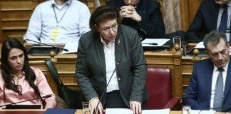 Μενδώνη για ΠΑΟΚ, Ξάνθη: «Στάση ευθύνης όταν η κοινωνία απειλείται με διχασμό»