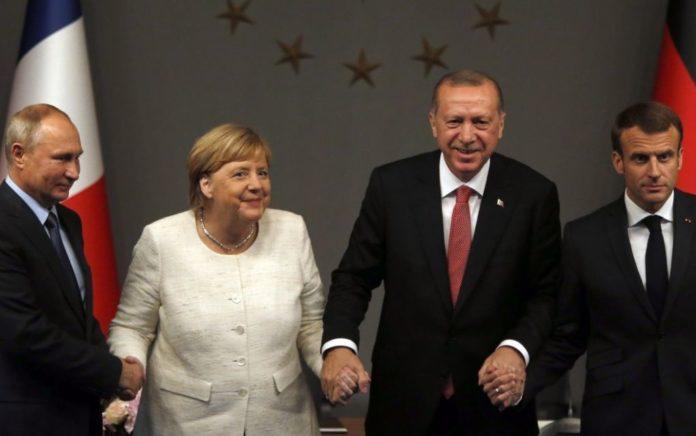 Συνάντηση Μέρκελ - Ερντογάν στην Κωνσταντινούπολη, στις 24 Ιανουαρίου