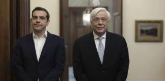 Παυλόπουλος και πάλι Παυλόπουλος για Τσίπρα