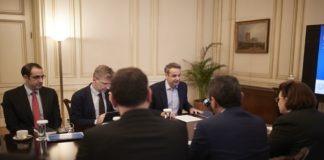 Τι συζητήθηκε στη συνάντηση Μητσοτάκη με την ηγεσία του Υπουργείου Πολιτισμού και Αθλητισμού