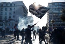 Βίαια επεισόδια σε αντικυβερνητική διαδήλωση στη Χιλή
