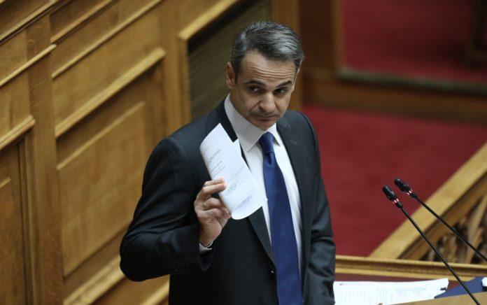 Μητσοτάκης: «Ο ΣΥΡΙΖΑ επέστρεψε στην αντιπολίτευση με τα μαγκάλια»