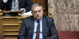 Θεοδωρικάκος : «Ο Τσίπρας φοβάται το παρελθόν του»