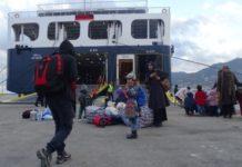 Εκτεταμένα επεισόδια στο λιμάνι της Μυτιλήνης