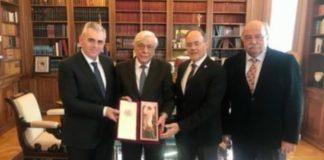 Επίσκεψη του Μ. Χαρακόπουλου με ΔΣΟ, στον ΠτΔ