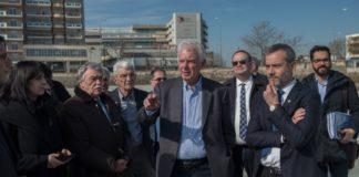 Επίσκεψη του αντιπροέδρου της κυβέρνησης Π. Πικραμμένου στον χώρο που θα ανεγερθεί το Μουσείο Ολοκαυτώματος