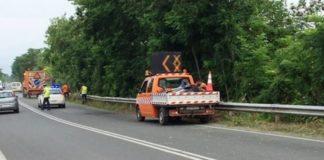 Εργασίες συντήρησης σε οδικούς άξονες από την ΠΚΜ