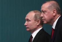 Ερντογάν και Πούτιν συζήτησαν για την κατάσταση στο Ιντλίμπ