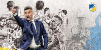 Έξαλλος ο Ουζουνίδης με τους παίκτες του ΑΠΟΕΛ